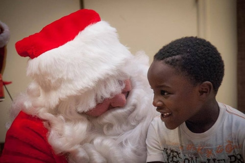 Children's Christmas Cancer Camp organized by Faces of Courage
