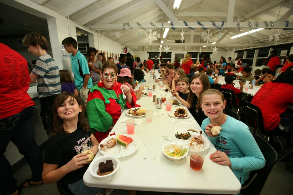 Dining Hall at Rotary's Camp Florida